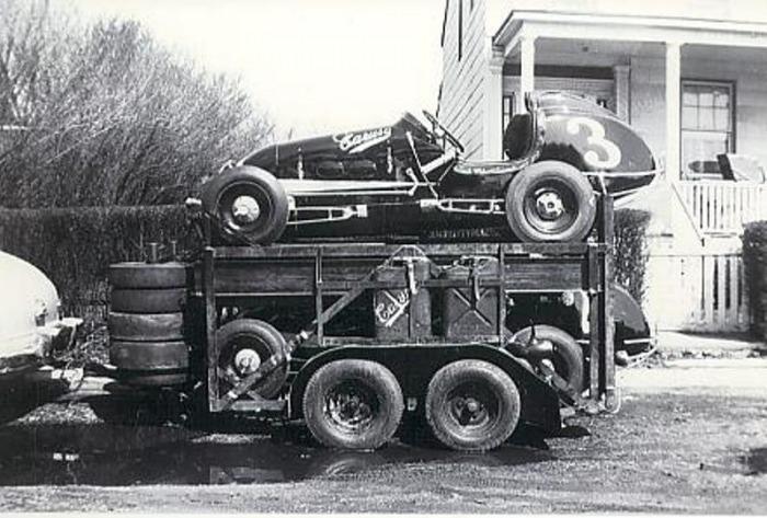 trailer Midget tractor